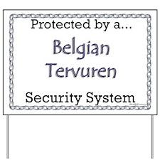 Terv Security  Yard Sign