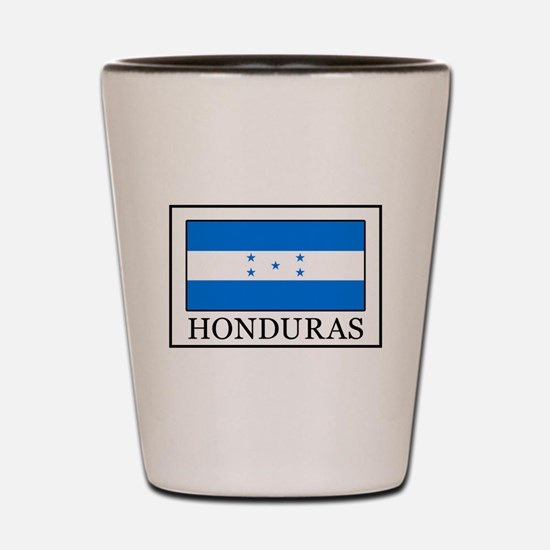 Honduras Shot Glass