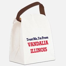 Trust Me, I'm from Vandalia Illin Canvas Lunch Bag