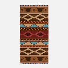 Navajo Native American Pattern Beach Towel