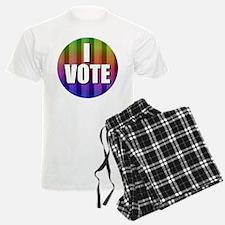 I Vote Rainbow Pajamas