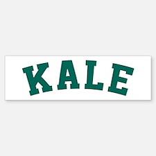 Kale University Funny Vegan Style Bumper Bumper Sticker