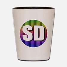 SD San Diego Shot Glass
