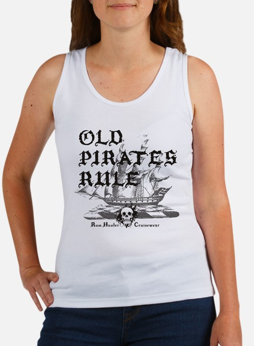 Old Pirates Rule Tank Top