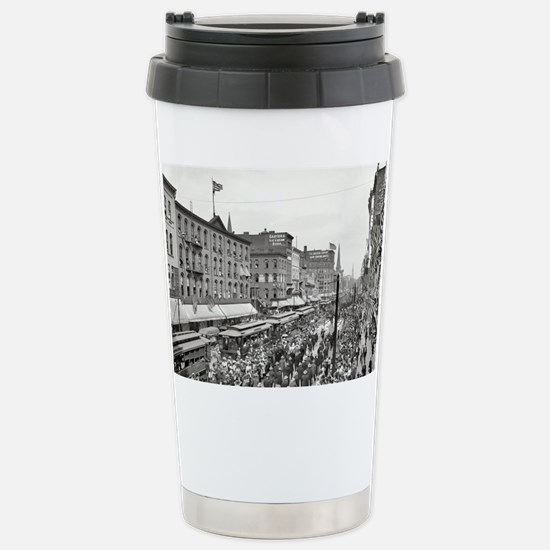 Cute Old scene Travel Mug
