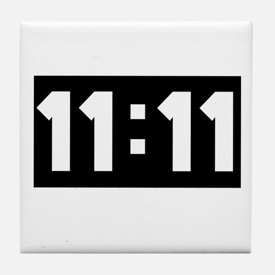 11:11 Tile Coaster