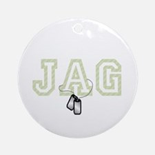 jag 2 Ornament (Round)
