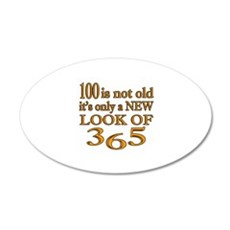 100 Is New Look Of 365 Wall Decal