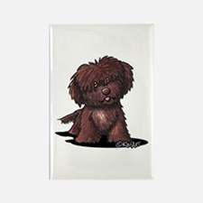 Shih Tzu Chocolate Rectangle Magnet