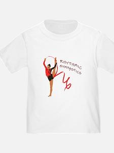 Red Gymnast Ribbon T-Shirt