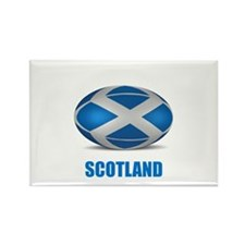Cute Scotland rugby Rectangle Magnet