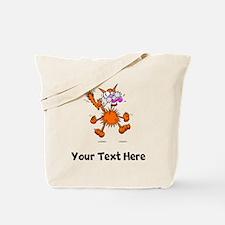 Crazy Cat (Custom) Tote Bag