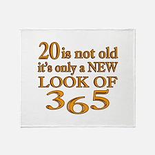 20 Is New Look Of 365 Throw Blanket