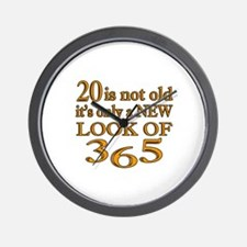 20 Is New Look Of 365 Wall Clock