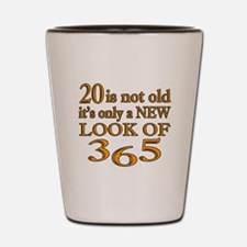 20 Is New Look Of 365 Shot Glass