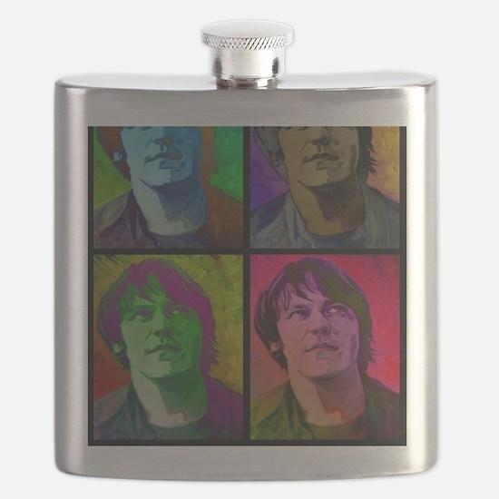Funny Folk Flask