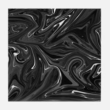 Abstract Marbling texture Tile Coaster