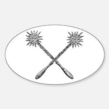 Mace Oval Decal
