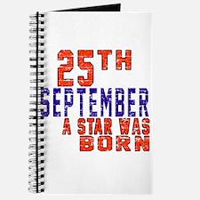 25 September A Star Was Born Journal