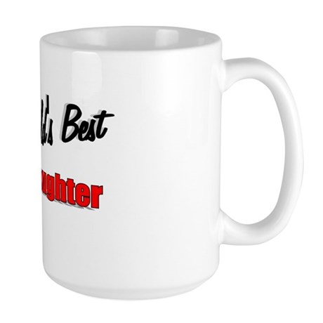 """The World's Best Goddaughter"" Large Mug"