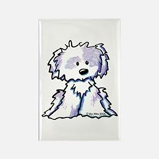 Shih Tzu Toon Rectangle Magnet