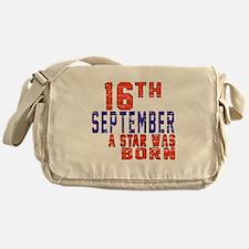 16 September A Star Was Born Messenger Bag