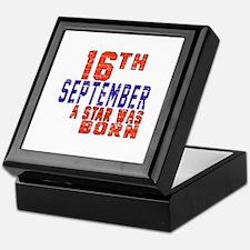 16 September A Star Was Born Keepsake Box