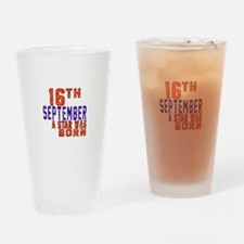 16 September A Star Was Born Drinking Glass