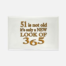 51 Is New Look Of 365 Rectangle Magnet