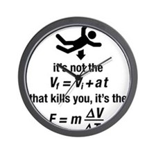 Cute Physics Wall Clock