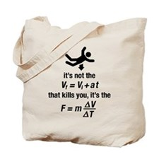 Cute Physics Tote Bag
