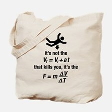 Funny Physics Tote Bag