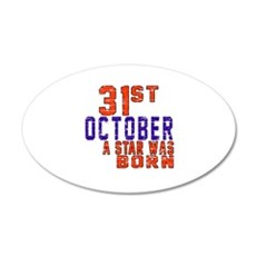 31 October A Star Was Born Wall Decal
