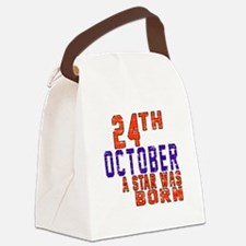24 October A Star Was Born Canvas Lunch Bag