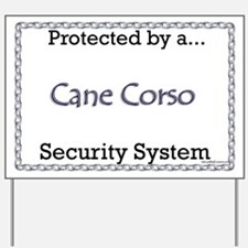 Corso Security  Yard Sign