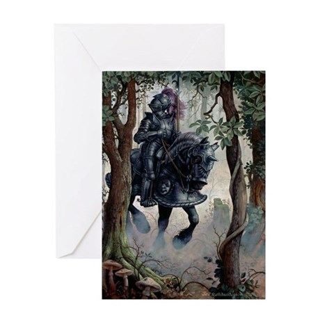 Black Knight Greeting Card