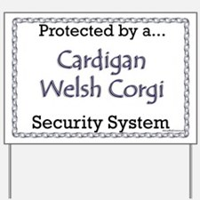 Cardigan Security Yard Sign