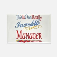 Incredible Manager Rectangle Magnet