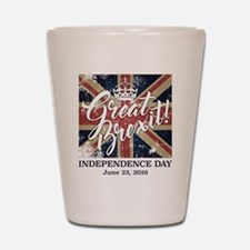 Great Brexit Shot Glass