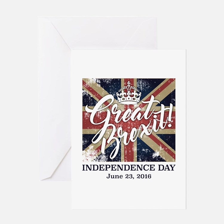 Great Brexit Greeting Card
