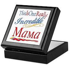 Incredible Mama Keepsake Box