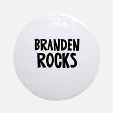 Branden		 Rocks Ornament (Round)