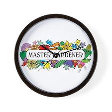 Master Gardener Wall Clock