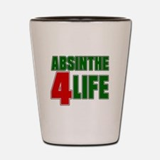 Absinthe For Life Shot Glass