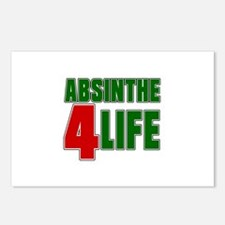 Absinthe For Life Postcards (Package of 8)