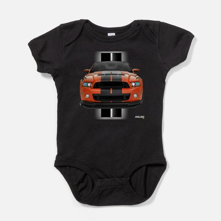 Cute Mustang shelby Baby Bodysuit