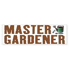 Master Gardener Bumper Bumper Sticker