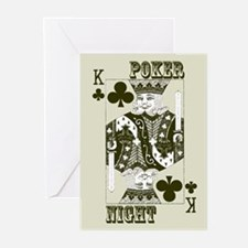 """King"" Poker Night Invitations (20 pk)"