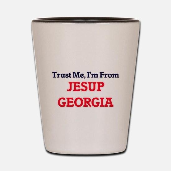Trust Me, I'm from Jesup Georgia Shot Glass