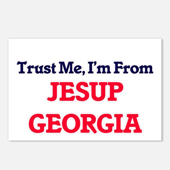 Trust Me, I'm from Jesup Postcards (Package of 8)